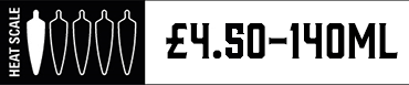 Heat Scale 140ml one chilli £4.00