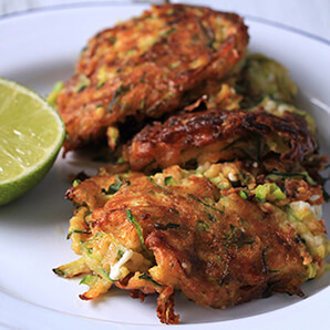 Wiltshire Chilli Farm - Courgette and Feta Fritters - sml