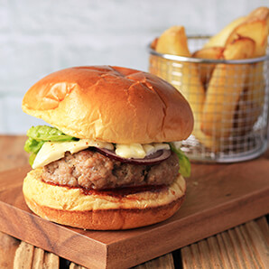Wiltshire Chilli Farm - Pork Burger - sml
