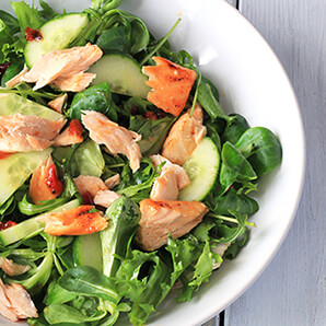 Wiltshire Chilli Farm - Salmon salad - sml