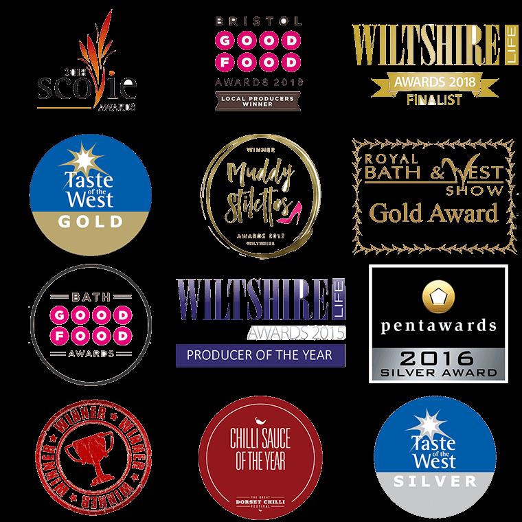 Wiltshire Chilli Farm - Awards