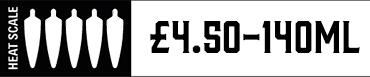 Heat Scale Five Chilli 140ml £4.00