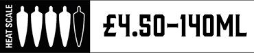Heat Scale Four Chilli 140ml £4.00
