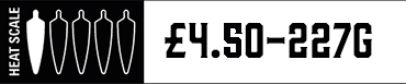 Heat Scale One Chilli 227G £4.00