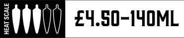 Heat Scale Three Chilli 140ml £4.00