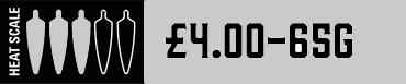 Heat Scale 45g £4.00.