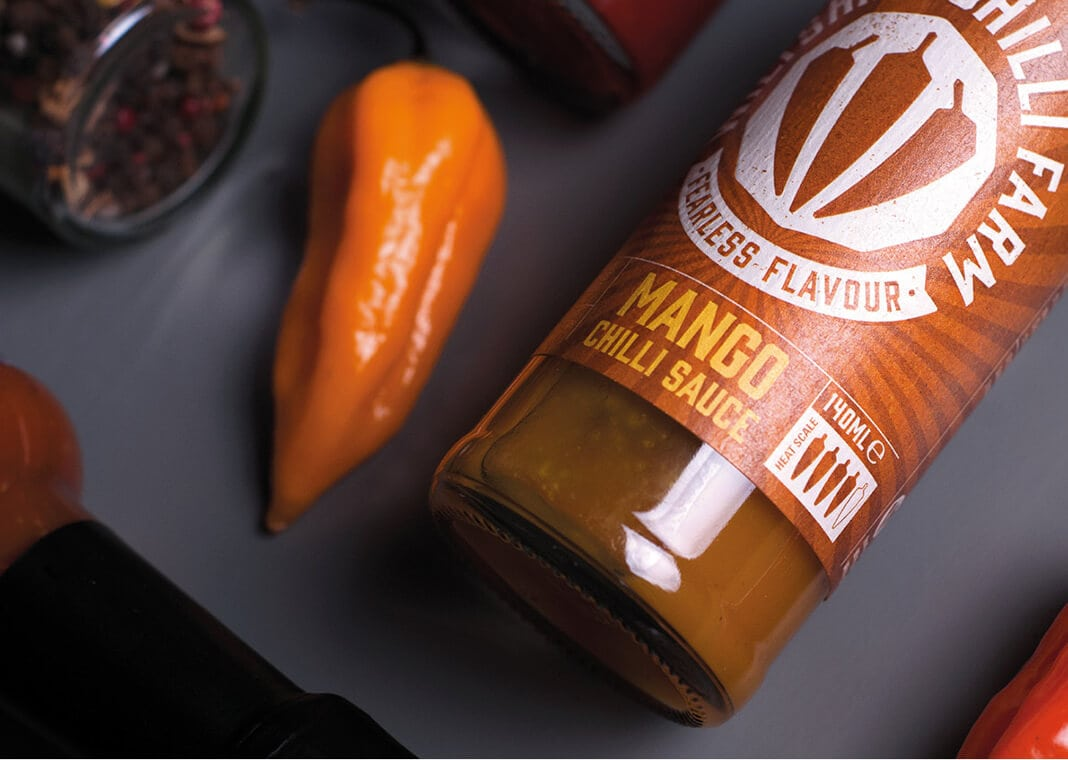 Wiltshire Chilli Farm - Mango Chilli Sauce and Pepper