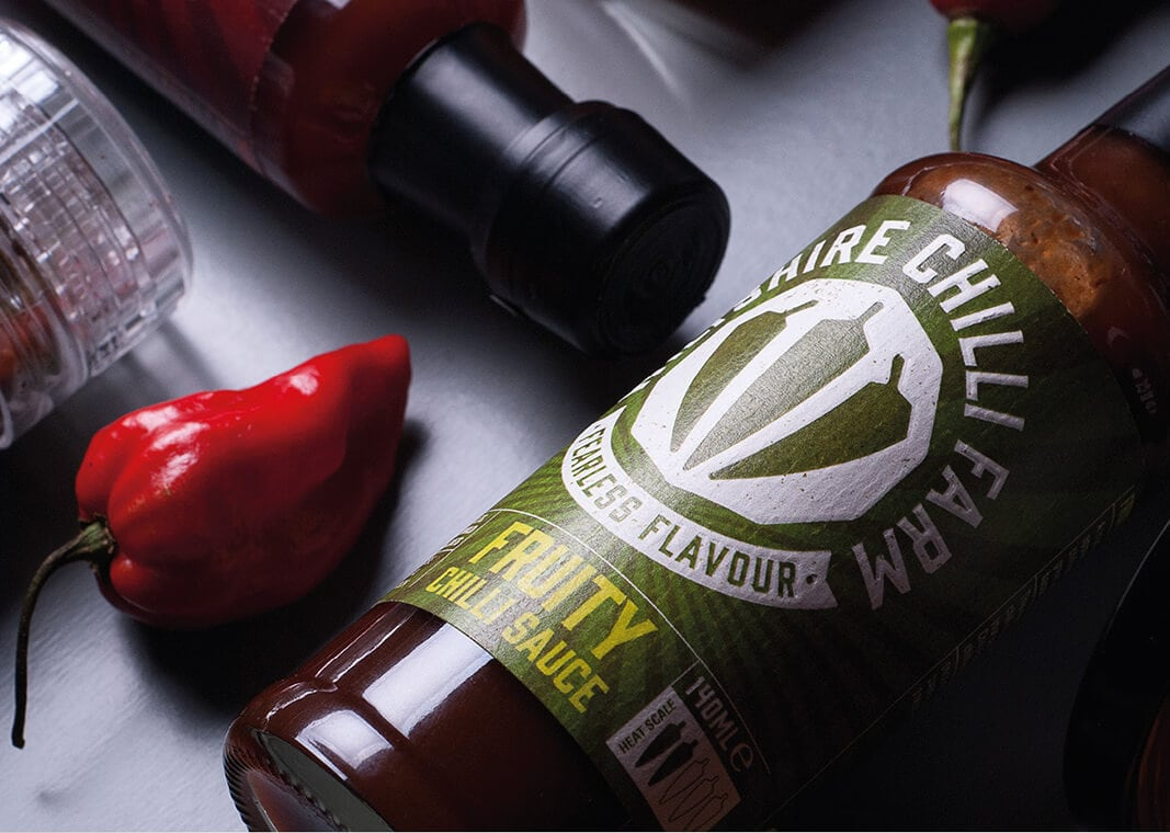 Wiltshire Chilli Farm Fruity Chilli Sauce and Pepper
